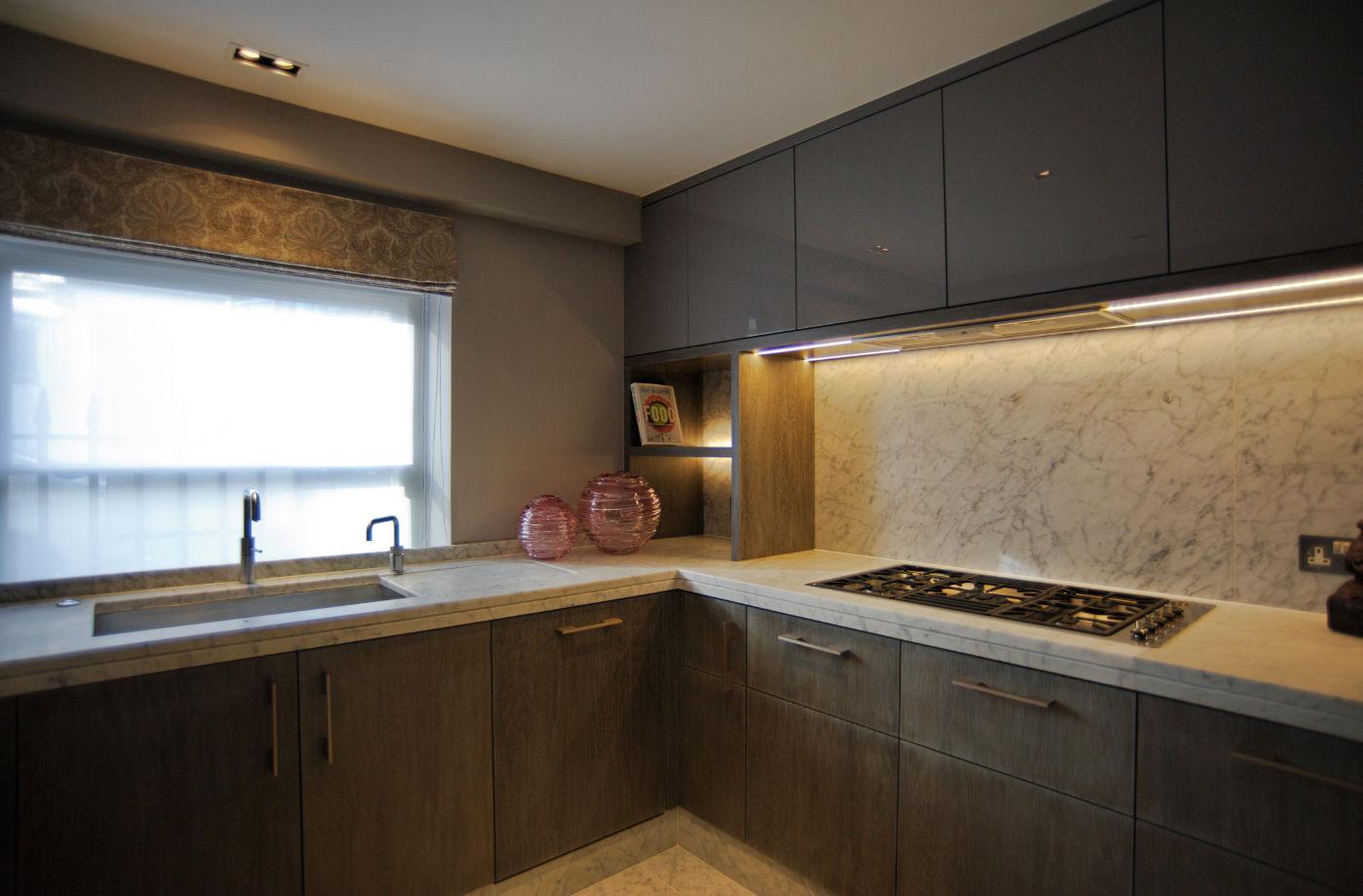 Dark Kitchen Bespoke Joinery