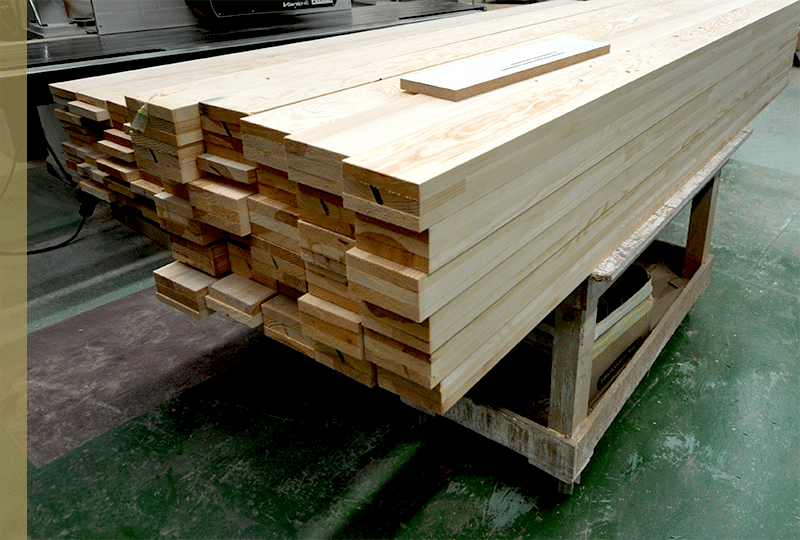 Sustainably sourced wood at Grovewood Joinery