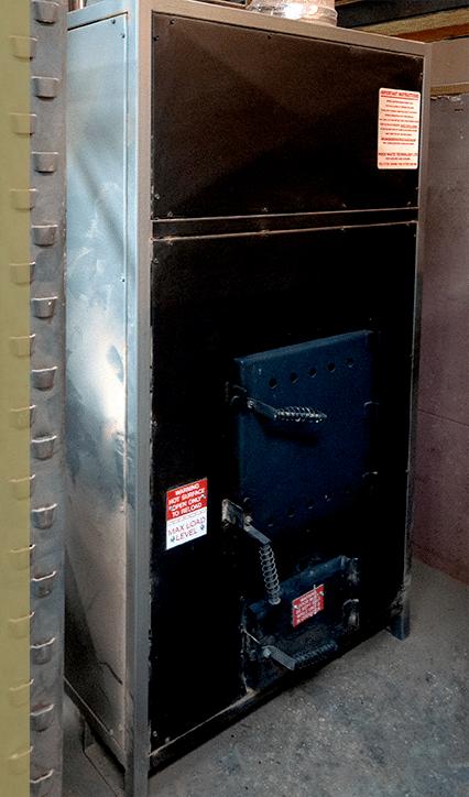 WT10 unit to heat our workshop